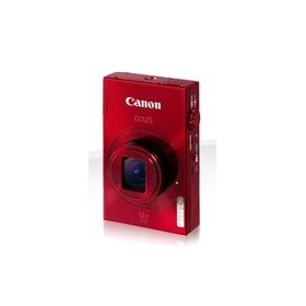 "Canon PhotoCamera  IXUS 500 HS red 10.1Mpix Zoom12x 3"" 1080 SDHC NB-9L"